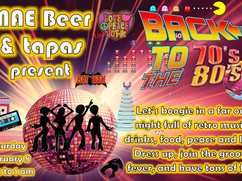 70s and 80s Party: February 8
