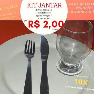 kit Jantar Linha Simples