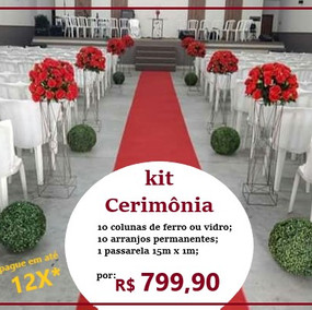 kit Cerimônia