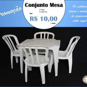 Conjunto Mesa e Cadeira