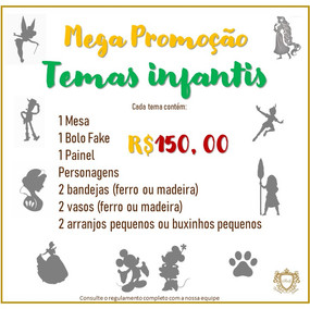 Temas Infantis Promoção