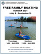 Free Family Boating 2021