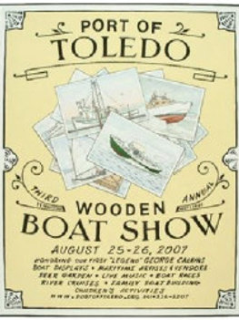 3rd Annual Port of Toledo Wooden Boat Show