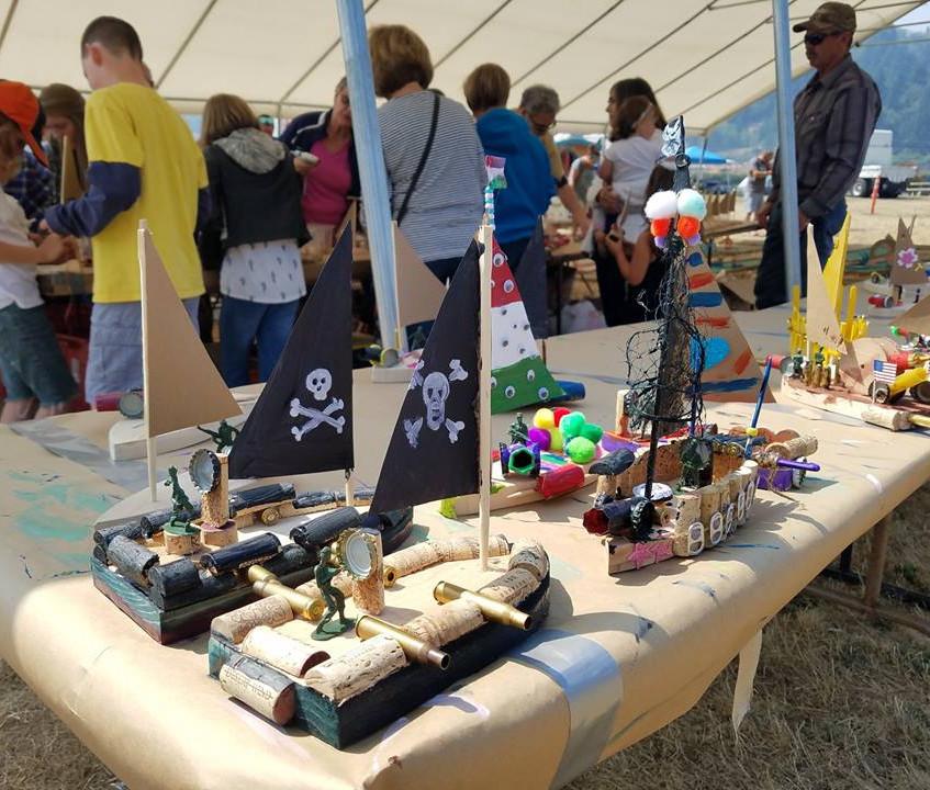 2019 Kids boatbuilding