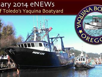 Latest Boatyard Project: Major Refit of F/V New Life