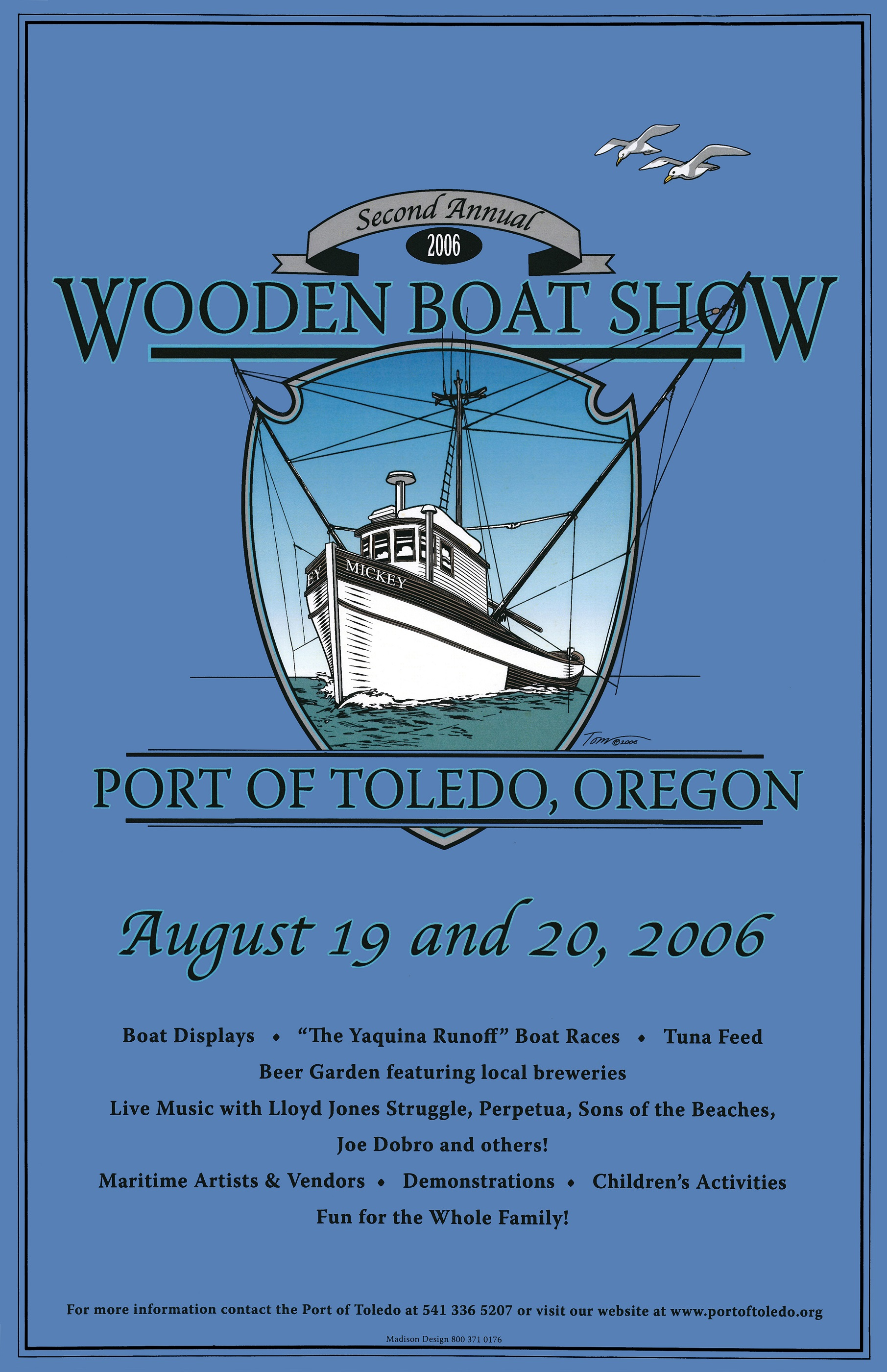 Wbs Posters Port Of Toledo Toledo Oregon Marina Marine Services