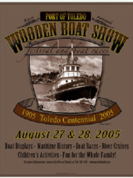 1st Annual Port of Toledo Wooden Boat Show