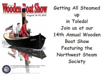 2018 Toledo Wooden Boat Show  Exhibitor & VendorRegistration is Open!