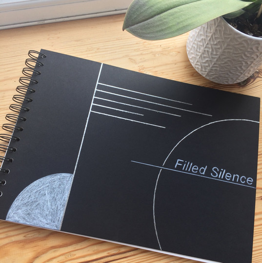 Filled Silence - instructional graphic score