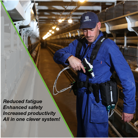 Reduced fatigue, enhanced safety, increased productivity - all in one clever system!
