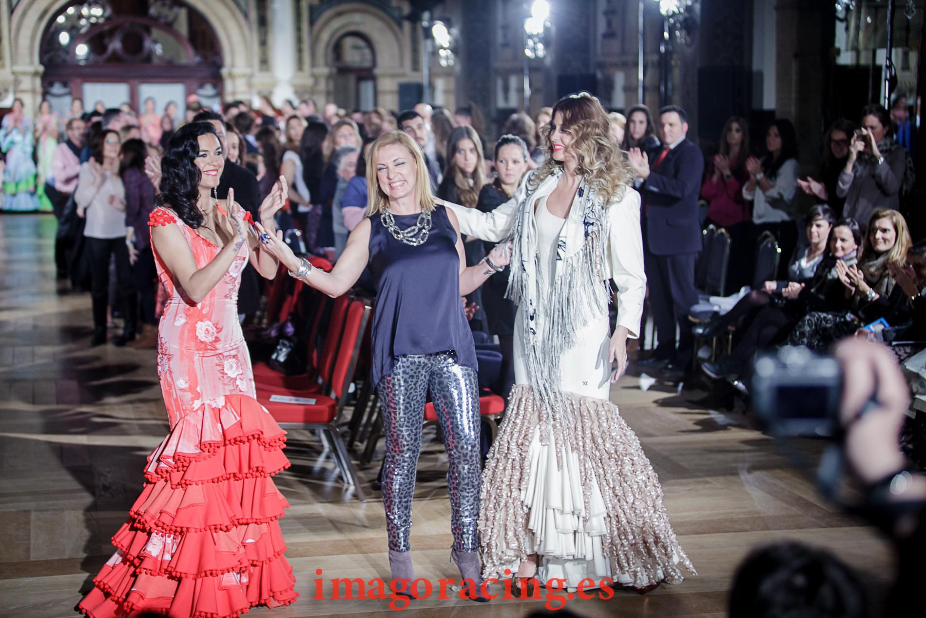 Flamenca con arte