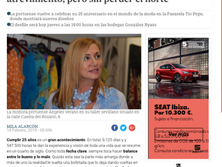 """""""En la moda flamenca valen la innovación y el atrevimiento, pero sin perder el norte"""