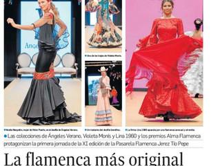 La flamenca más original por Diario de Jerez.