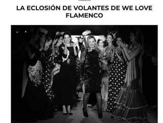 La Eclosión de volantes de We Love Flamenco.