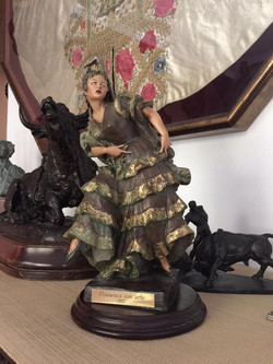 premio flamenca con arte en casa de Marina Heredia