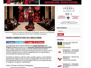 Pasarela Flamenca Jerez 2019. Córdoba Flamenca.