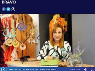 Entrevista para el programa Herrera en Cope,Bravo en Sevilla