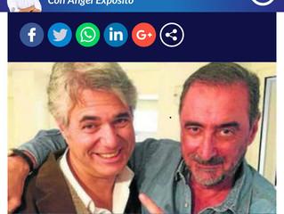 """Entrevista por Agustín Bravo en la Cope a unas horas del desfile """"A mi Manera""""."""