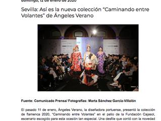 Así es la nueva colección de Ángeles Verano.