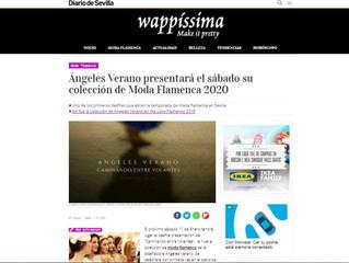 Ángeles Verano presentará el sábado su colección de Moda Flamenca 2020