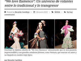 We Love Flamenco un Universo de volante entre lo tradicional y lo transgresor. Sevilla Magazine.