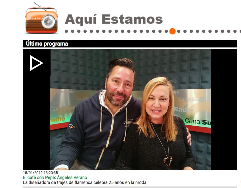 entrevista. programa radio