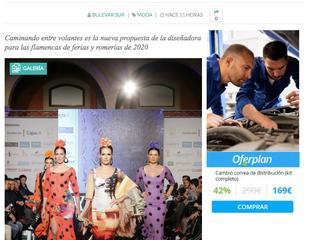 Así es la colección de moda flamenca 2020 de Ángeles Verano