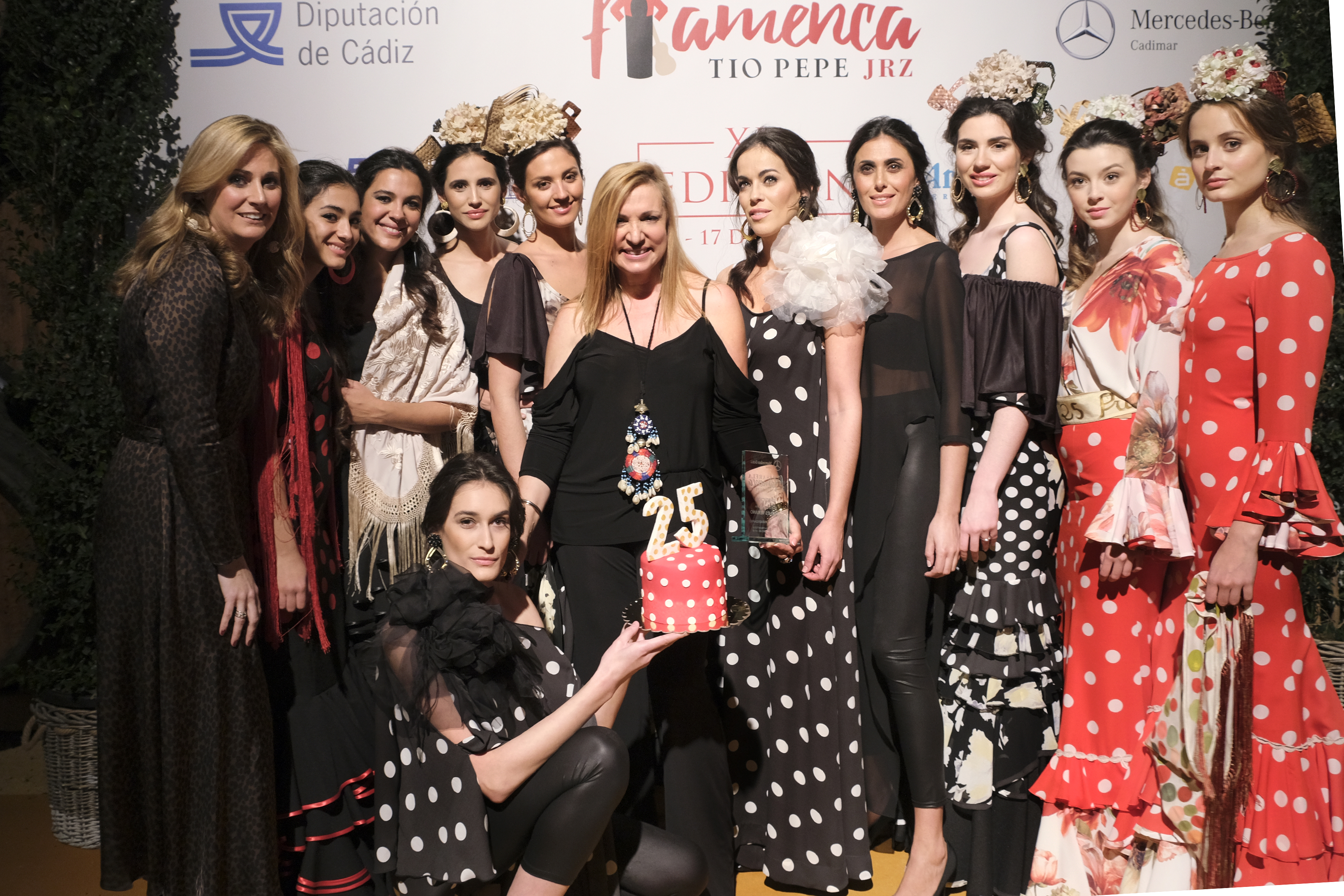 photocall pasarela jerez- angeles ve