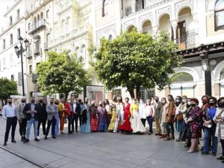 La moda flamenca, en la cuerda floja