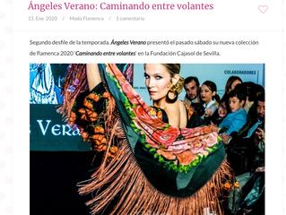 Ángeles Verano: Caminando entre volantes