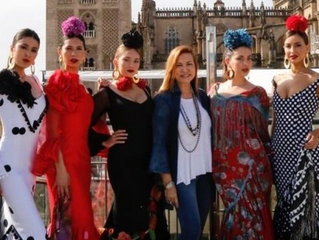 Ángeles Verano presenta 'La vida es sueño' en la Pasarela Flamenca de Jerez
