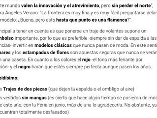 Cinco claves para saber cómo vestir de flamenca y no morir en el intento