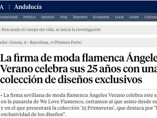 Ángeles Verano celebra sus 25 años con una colección de diseños exclusivos.
