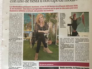Publicación en el Correo de Andalucía.