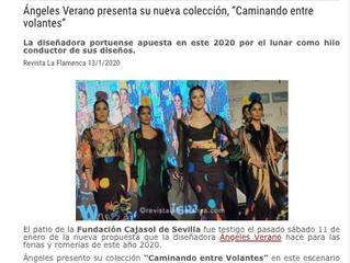 """Ángeles Verano presenta su nueva colección, """"Caminando entre volantes"""""""