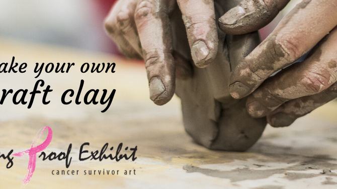 Experience the healing power of the arts: Make your own craft clay at home