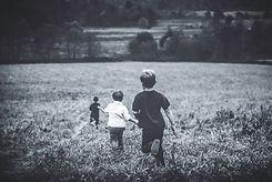 Boys Running