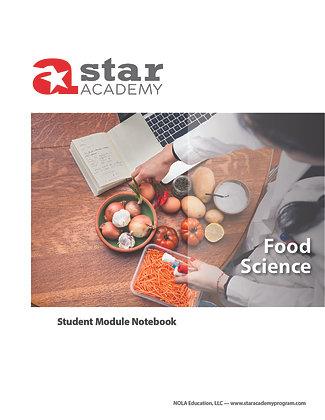 Food Science Binder Cover
