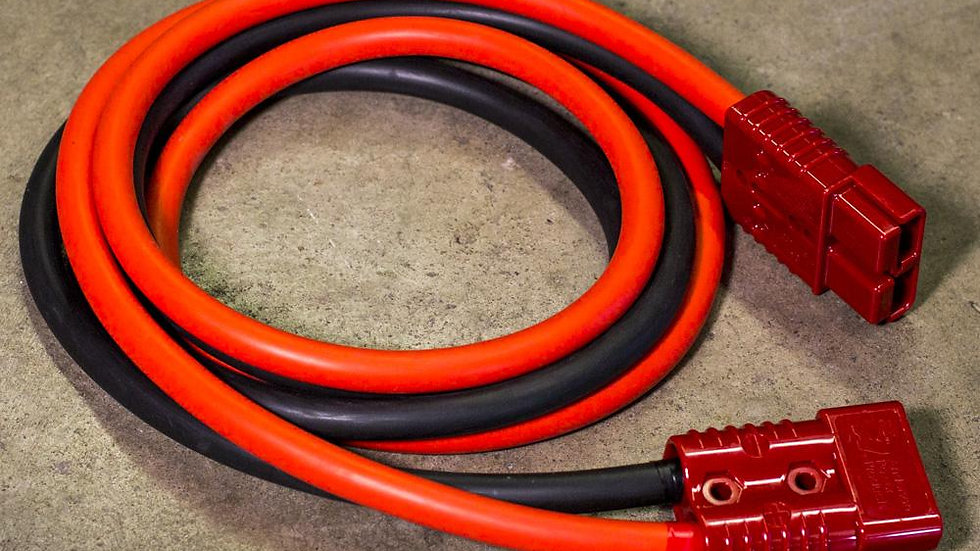 1 AWG 6' HD Booster Cables Extension