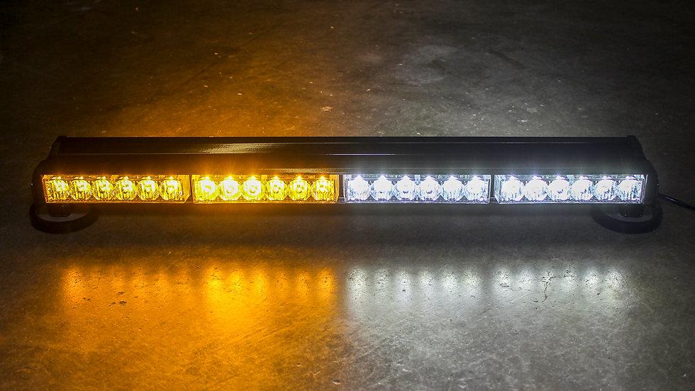 """24"""" Light Bar on Amber on left White on right"""