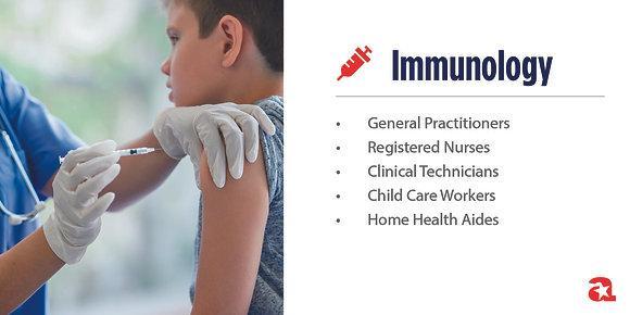 Immunology Module Sign