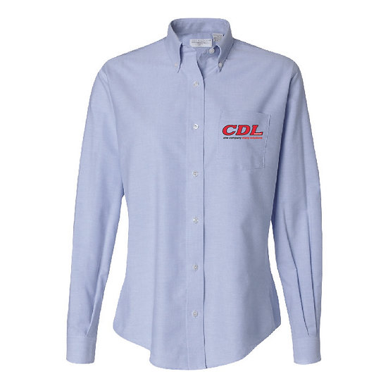 Women's Oxford Button Up