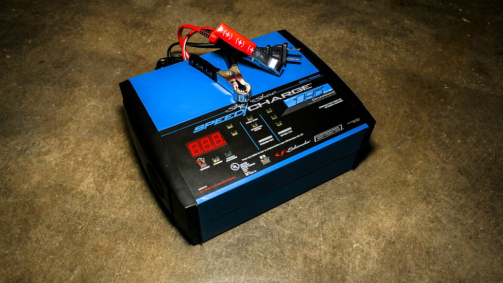 15AMP Battery Smart Charger