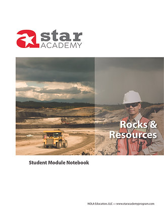 Rocks & Resources Binder Cover