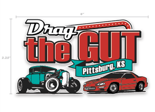 Drag the Gut Decal