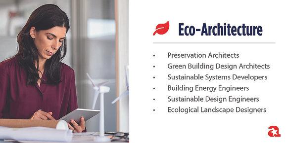 Eco-Architecture Module Sign