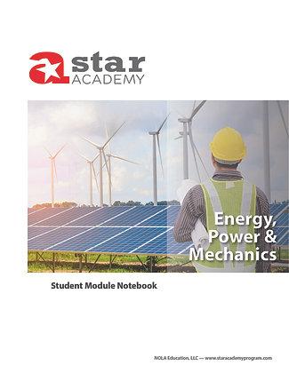 Energy, Power & Mechanics Binder Cover