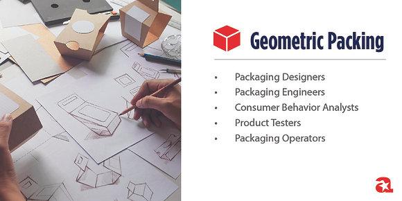 Geometric Packaging Module Sign