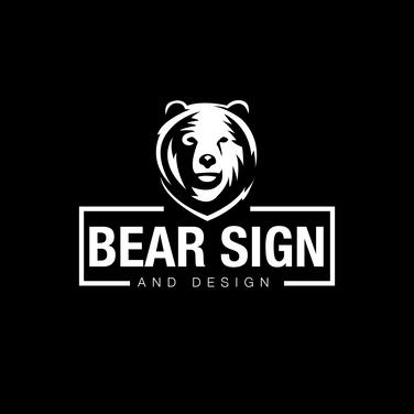 Bear Sign and Design