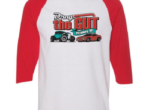 Drag the Gut 3/4 Sleeve T-shirt